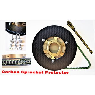 Carbon Sprocket Protector RMW V2